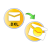 Export DXL files data to Outlook PST file